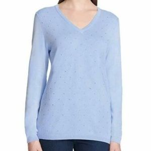 DKNY Jeans Ladies' Rhinestone Embellished Sweater